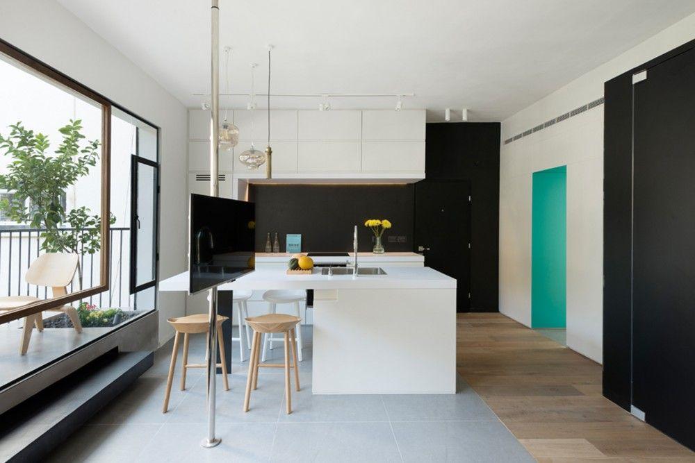 Gallery of Apartment in Tel Aviv / Amir Navon-Studio 6B, Maayan - diseo de interiores de departamentos