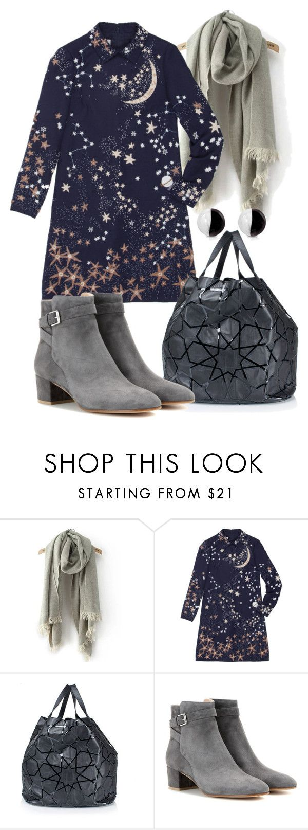 """""""Untitled #492"""" by fashion-dairy ❤ liked on Polyvore featuring Valentino, Kokon To Zai, Gianvito Rossi and Antica Murrina"""