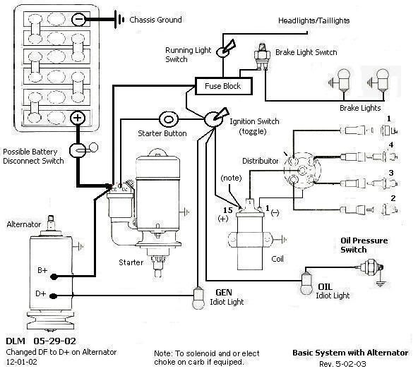 vw dune buggy wire diagram