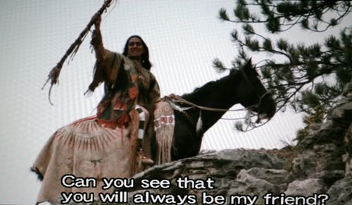 Dances With Wolves! I am Wind In His Hair. Do you see that ...
