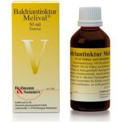 Photo of Valerian tincture Melival 50 ml Hofmann & Sommer Hofmann & Sommer