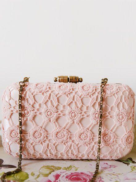 Peach Lace Box Clutch  www.goo.gl/1BKDrf #clutchmehoney #clutch #weddingaccessories #weddingpurse #clutchpurse #bridalfashion #bridalstyle #bride #wedding #bridalfashion #engaged #style #weddingideas #weddingclutchbag #bridesmaidsclutch #bridalclutch #bridalfashion #luxurywedding