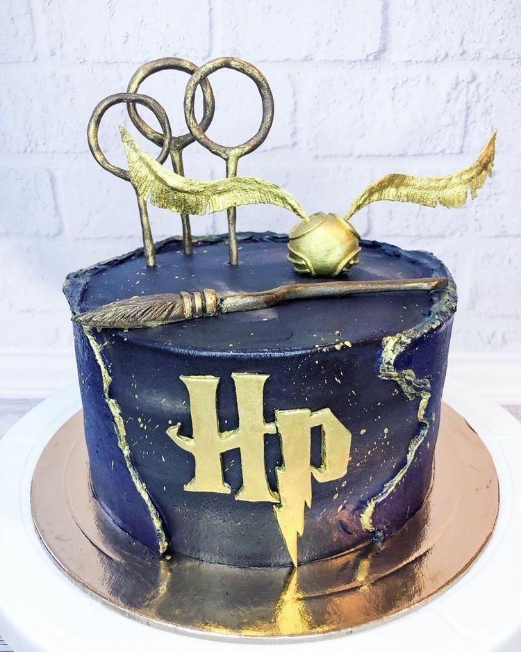 harry potter torte: 45 ideen mit beliebten motiven aus der