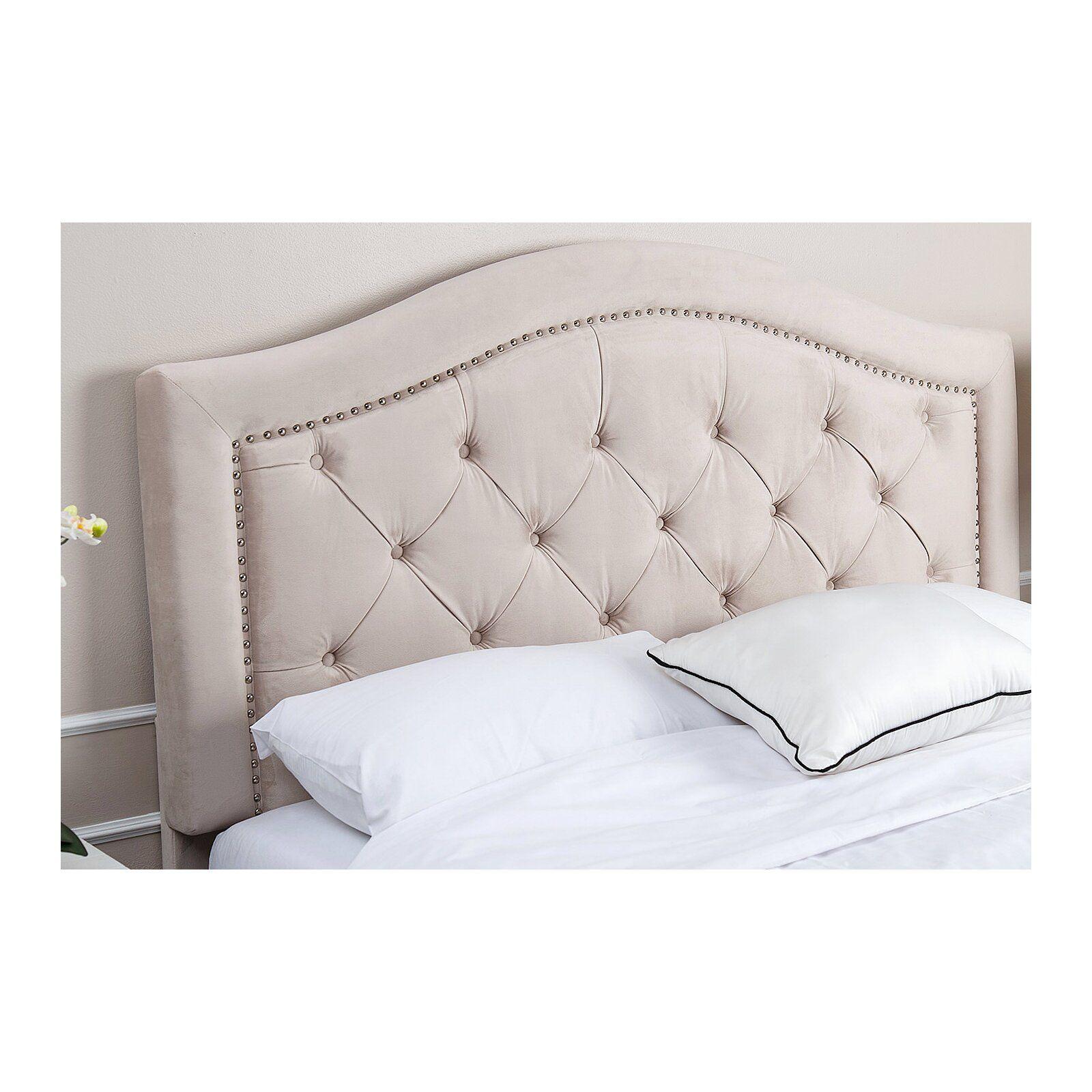 Gossman Upholstered Panel Headboard Velvet Headboard Upholstered Headboard Upholstered Beds