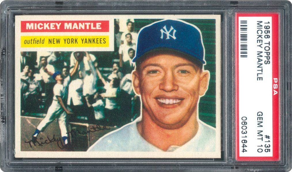 1956 Topps Baseball Cards Psa Smr Price Guide Baseball