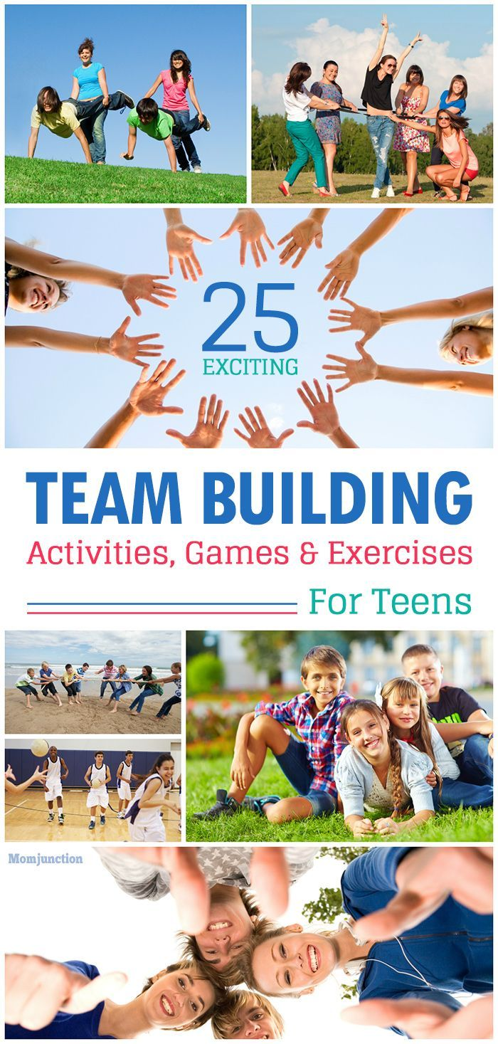 Teenagers Team Building Toys : Fun team building activities for teens games exercises