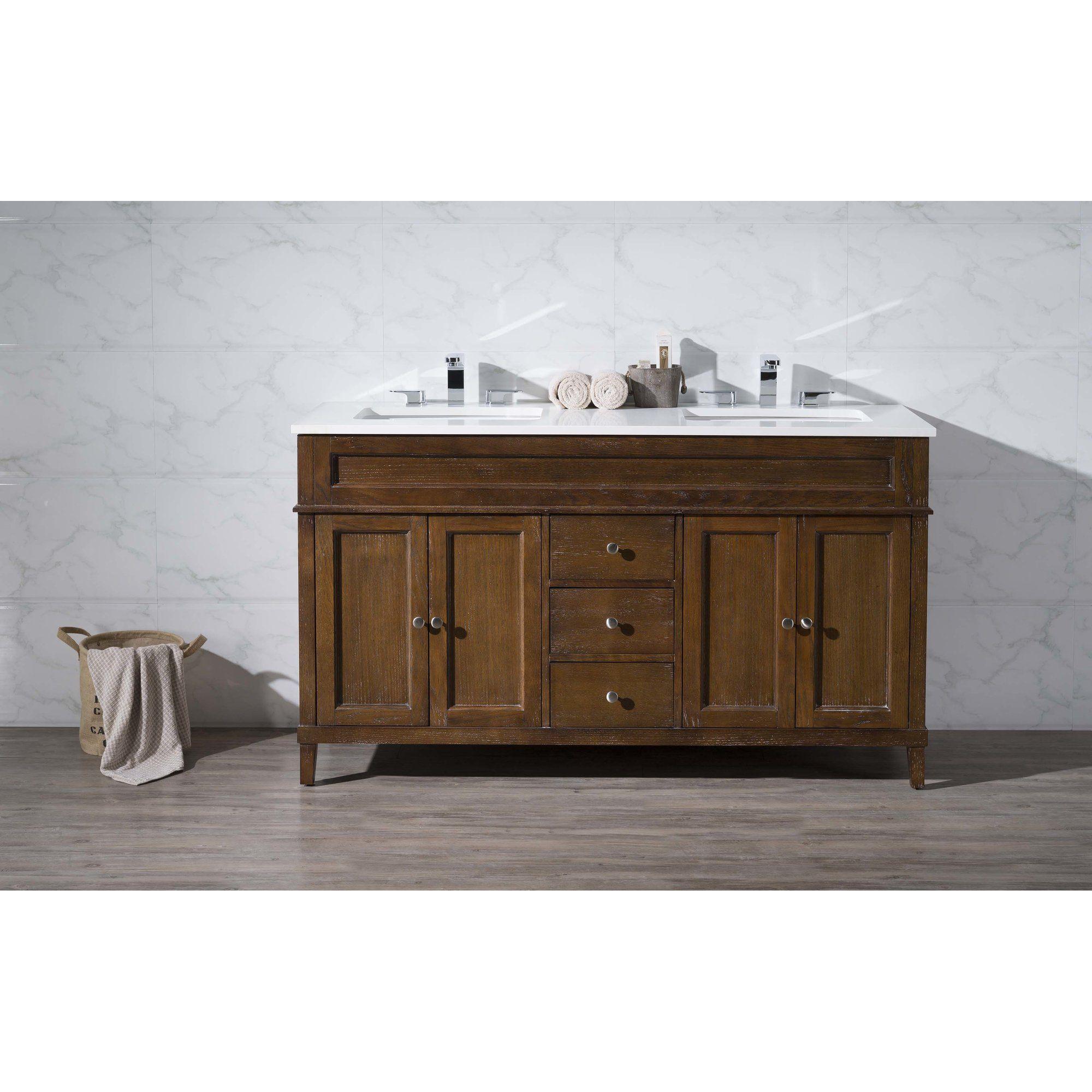 Bethany 59 Double Sink Bathroom Vanity Set 889 99