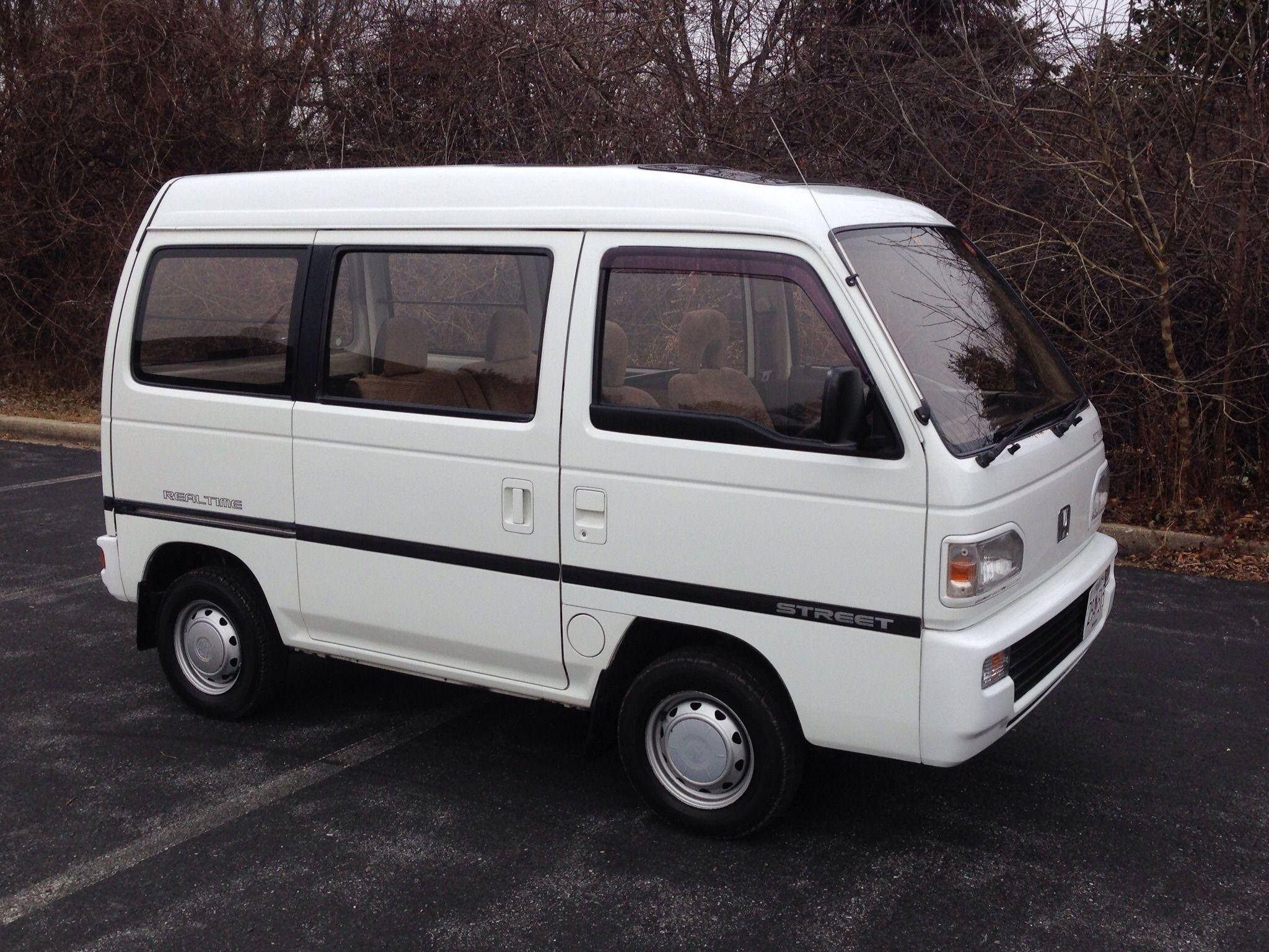 1990 Honda Acty Street 4wd 5 Speed In 2020 Honda Mini Van Mini Trucks