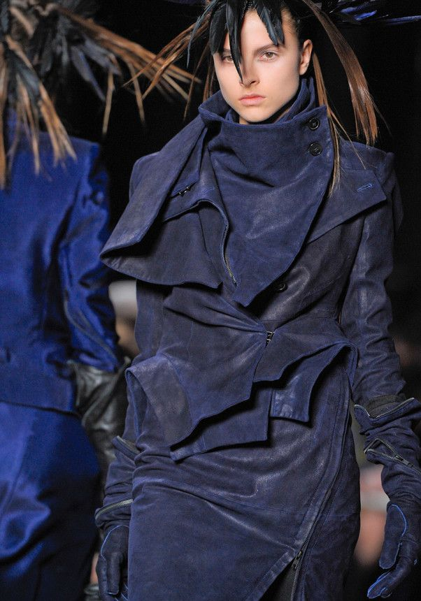 Ann Demeulemeester Fall 2012 – Vogue