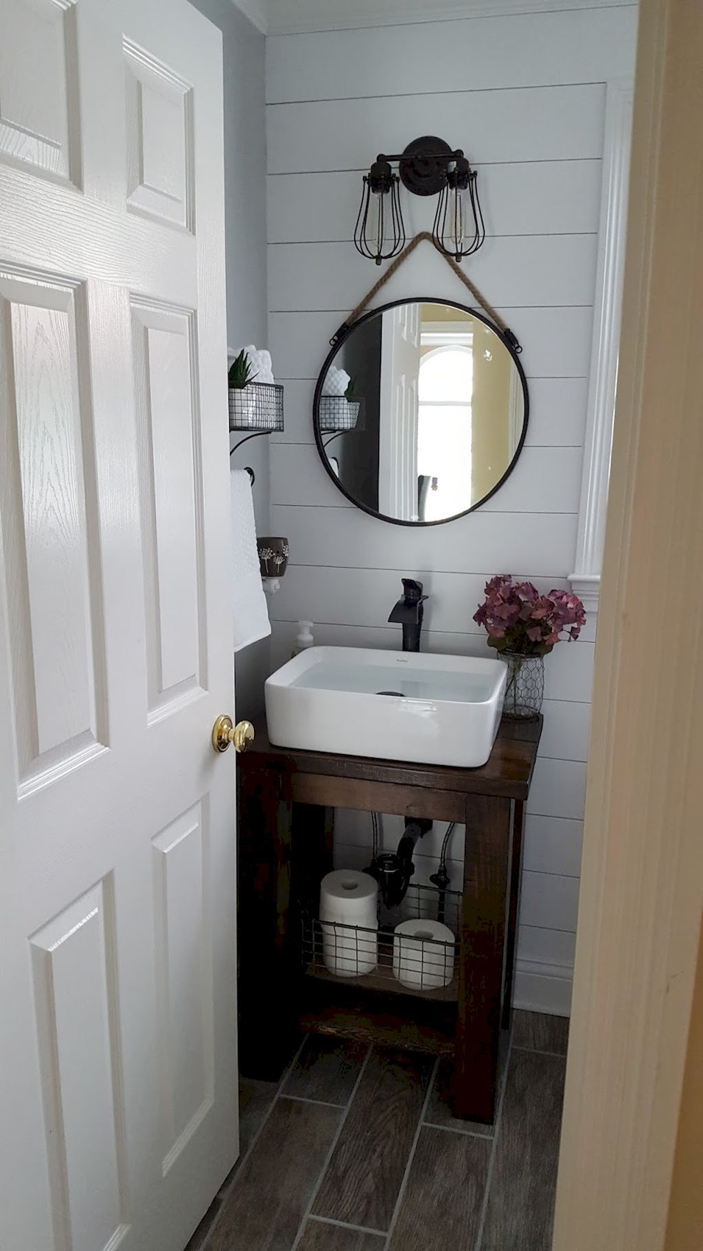 80 fresh and cool small bathroom remodel and decor ideas | small