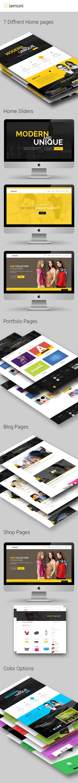 Lemoni - Multipurpose Drupal 8 Theme | Drupal, Template and Wordpress