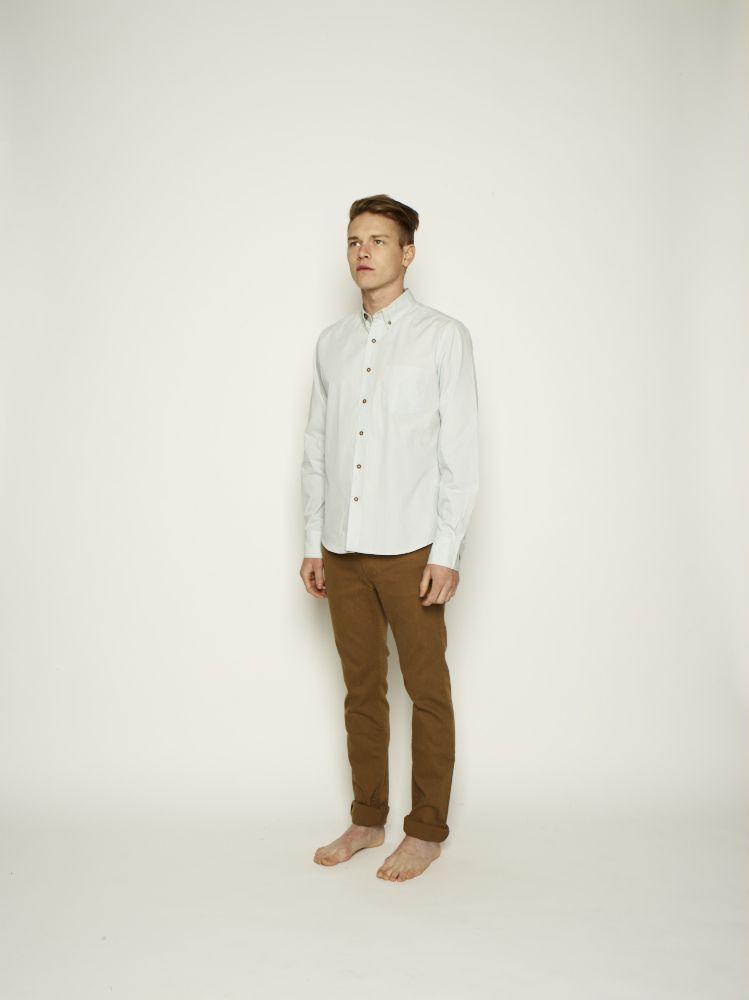 Shop for Men :: Bottoms at Vanishing Elephant - Monoake #denim #khaki #selvedge #cotton #menswear #straightfit