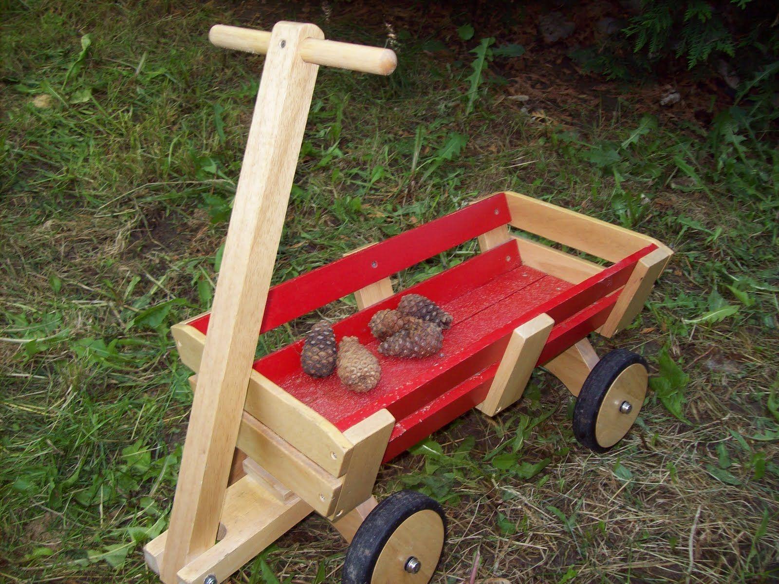 Sedia A Dondolo Per Bambini Mista : Wood toys wooden wagons for kids giochi e bambole