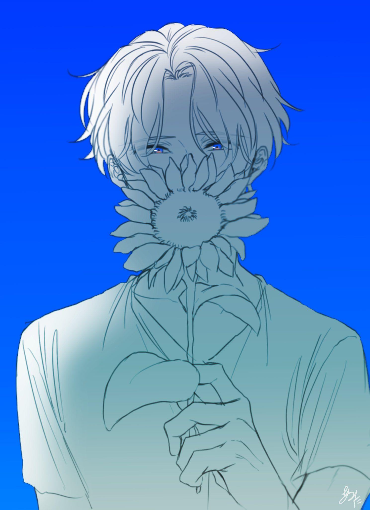 あみた on (With images) Anime drawings boy, One piece ace