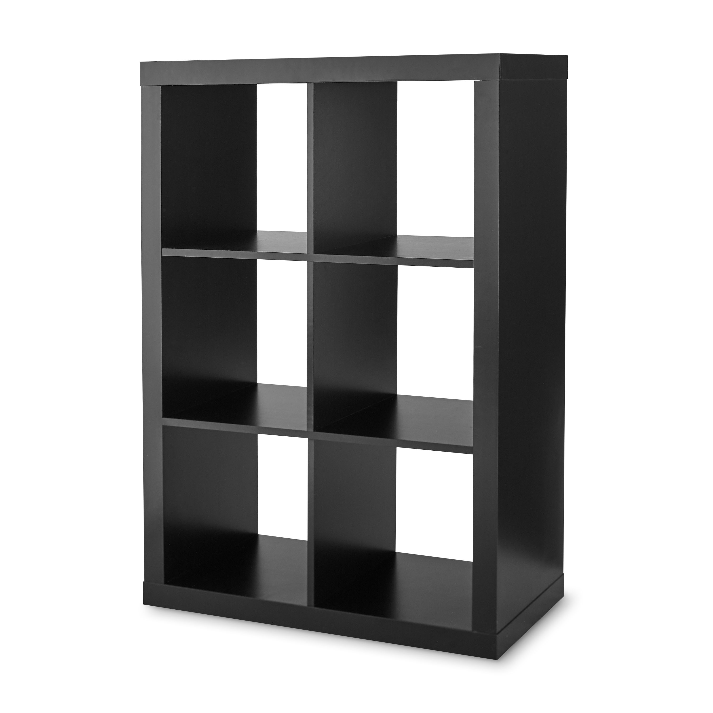 Free 2 Day Shipping Buy Better Homes Gardens 6 Cube Storage Organizer Black At Walmart Com In 2020 Cube Storage Cube Storage Shelves Cube Organizer