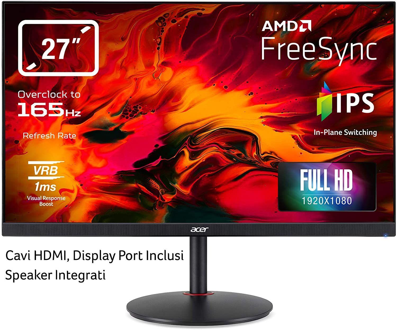 Acer Nitro Xv270p Review 144hz Gaming Monitor In 2020 Monitor Nitro Hdmi