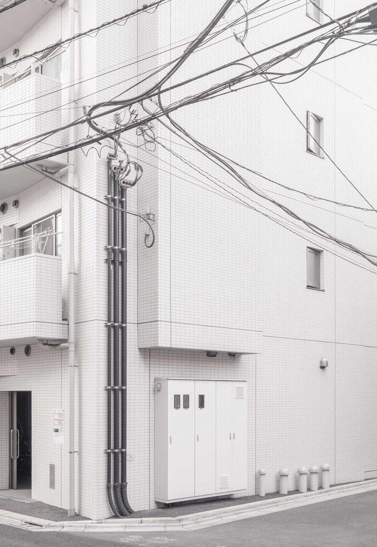 janvranovsky House corner in Nishi Nippori (Tokyo