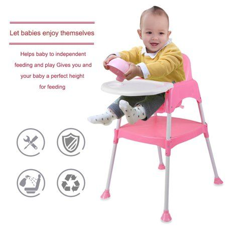 50f25614b0859 3 In 1 Baby High Chair Convertible Table Seat Booster Toddler Feeding  Highchair Multifunctional Baby Chair Kid Dining Chair