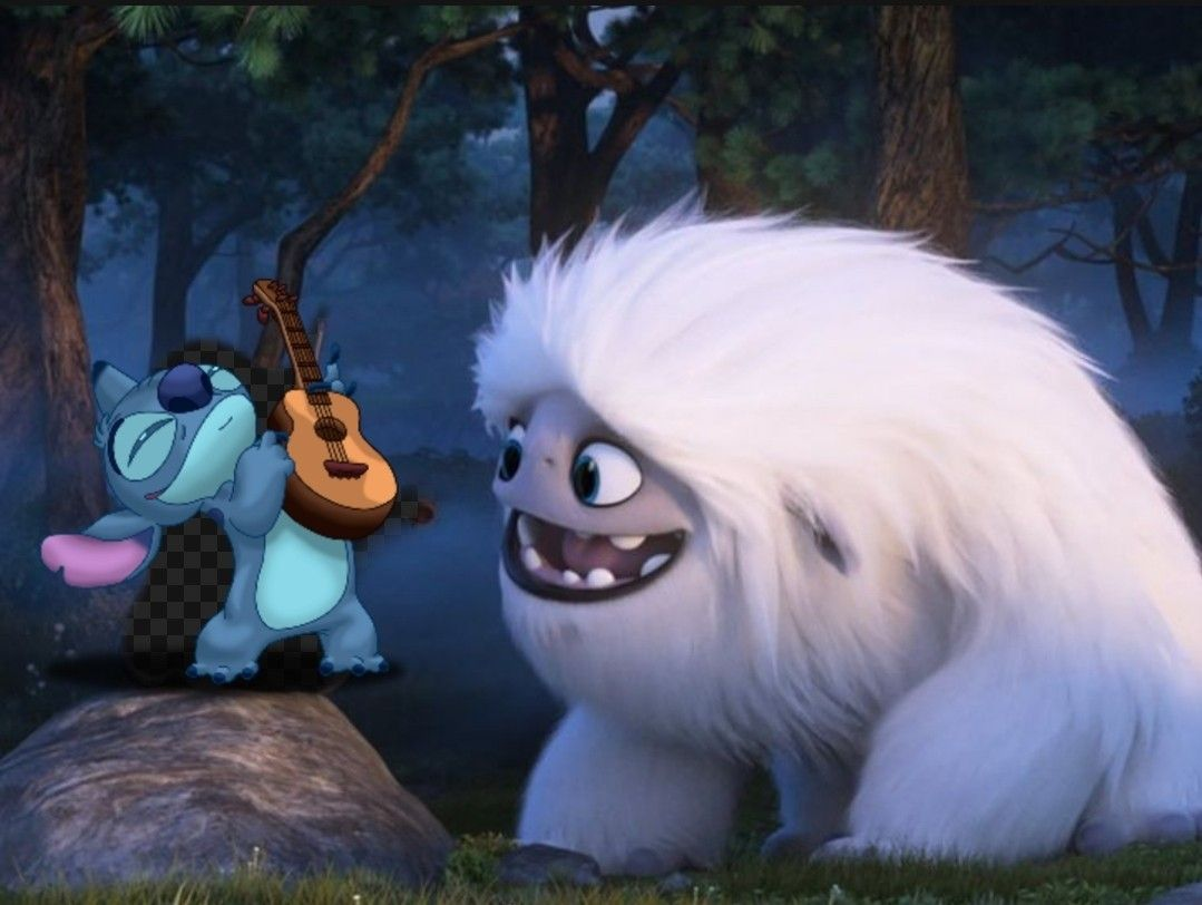 Stitch Abominable Everest Olaf The Snowman Disney Characters Character