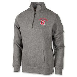 Women's Ohio State Buckeyes College Quarter Zip Pullover ...