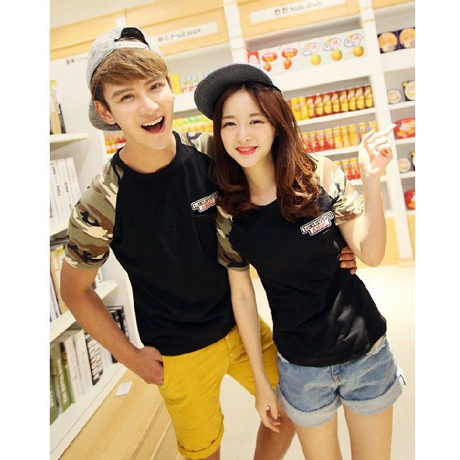 cute korean matching tshirts for married couples korean