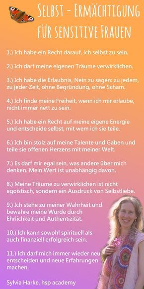 Selbstermächtigung für hochsensible Frauen, 11 Punkte, die Dich in Deine Kraft bringen, von Dipl.-Psych. Sylvia Harke