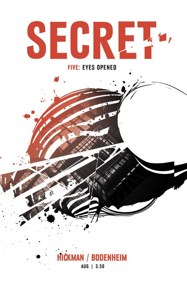 Secret #5, by Jonathan Hickman  Hickman continues to wow me