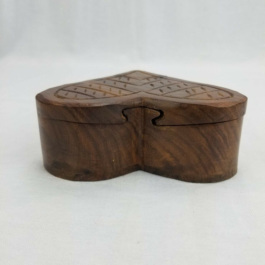 Valentine S Day Gift Heart Shaped Wood Puzzle Jewelry Box Ad Ad Gift Heart Day Puzzle Jewelry Wood Puzzles Photo Gifts Diy