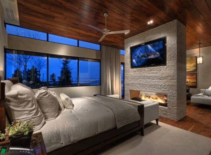 Mehr komfort und geborgenheit mit modernem kamin design - wohnzimmer kamin design
