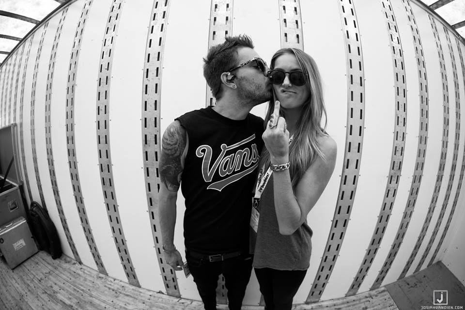 #WeTheKings Warped Tour 2014: Mountain View, CA - #CharlesTrippy and Allie