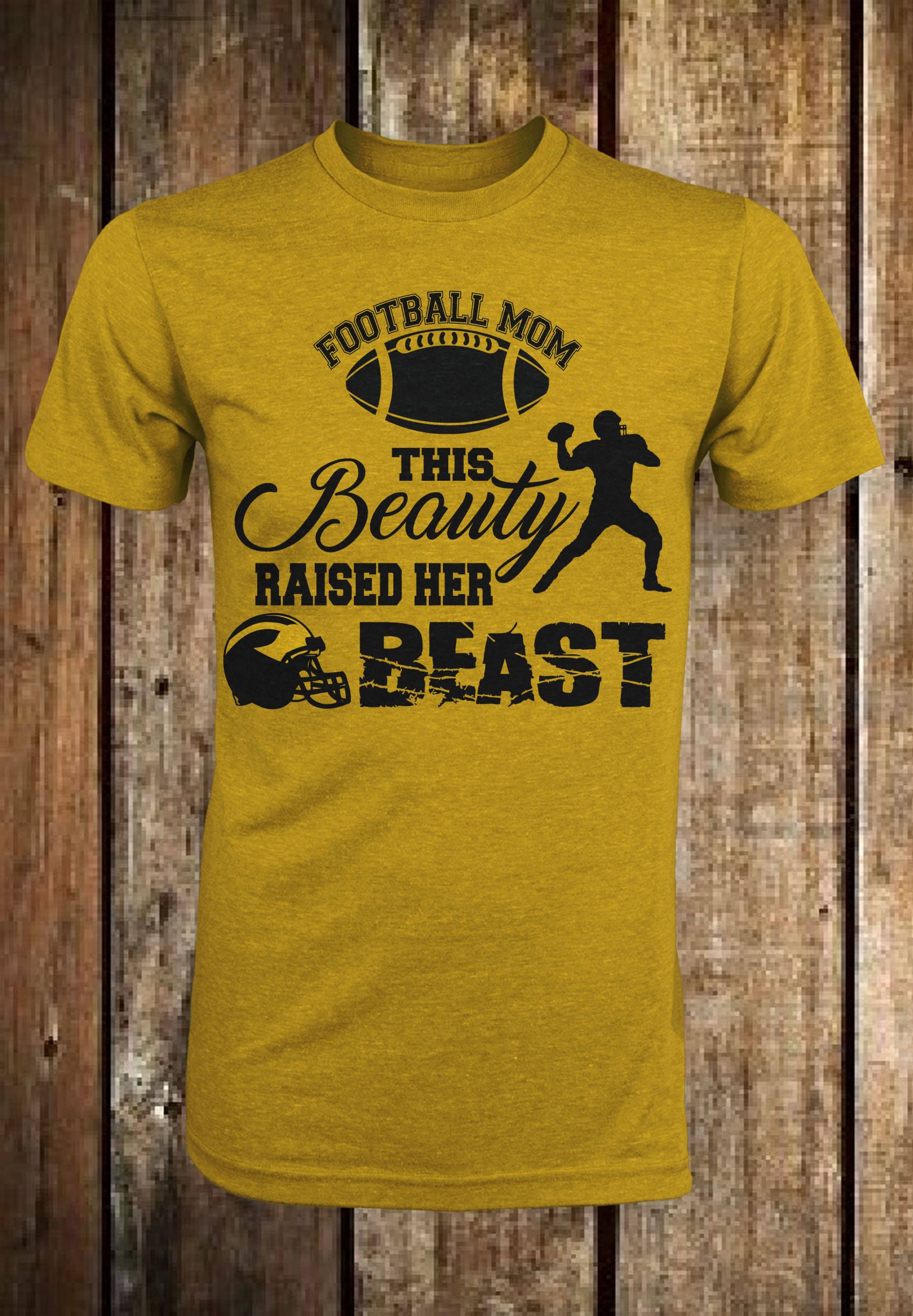 This Beauty Raised Her Beast (SVG) by TDZdesignz on Etsy