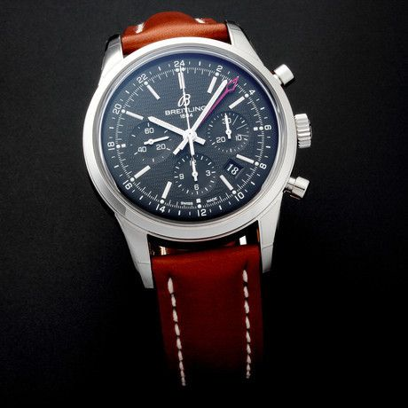 Breitling Transocean Chronograph GMT Automatic Limited Edition // c.2014