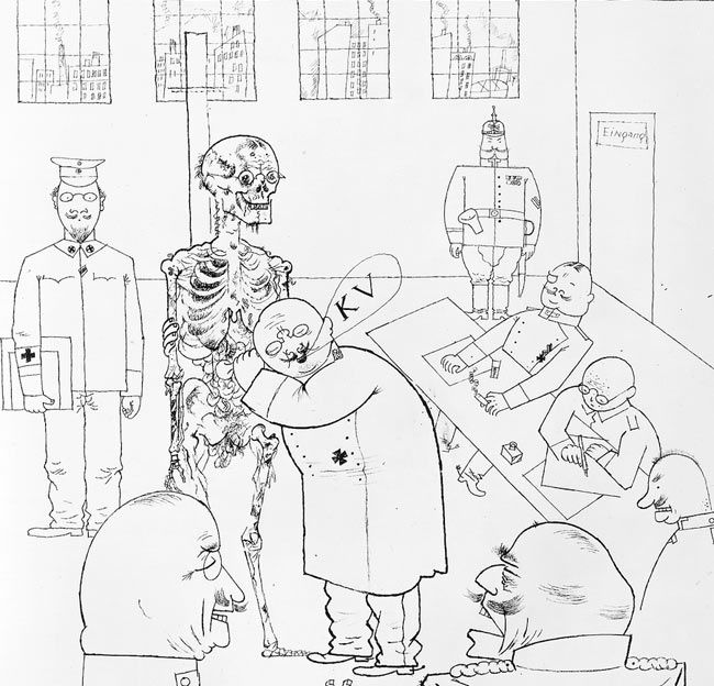 Great Masters of illustration: George Grosz - Image 1   Gallery