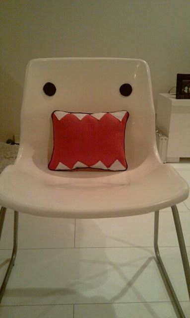 Domo Kun Chair Ikea Hackers Art Chair Chair Ikea Hackers