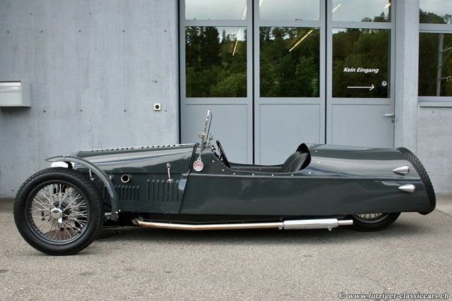 Morgan Three-Wheeler. You can't get much more unique than this ...