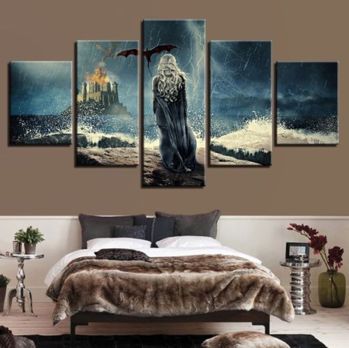 Canvas Print Painting Pictures Wall Art Home Decor Poster Game Of ...