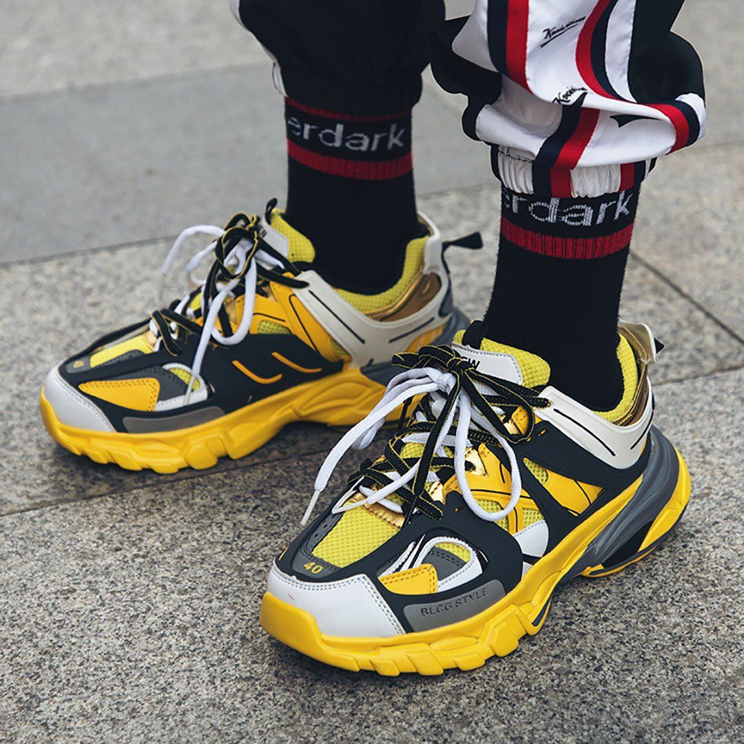 Retro Casual Sports Shoes is part of Shoes - Fashion Type Casual shoes Occasion Daily Life Upper Material TPU+Cloth Outsole Material Rubber Heel Height 13cm Package included 1pair of shoes Please NoteAll dimensions are measured manually with a de