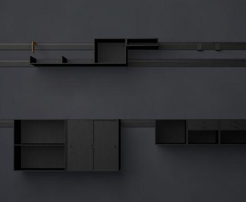 Karakter Copenhagen - kilometer wall unit series by... JOE COLOMBO...(!!) very nice indeed...