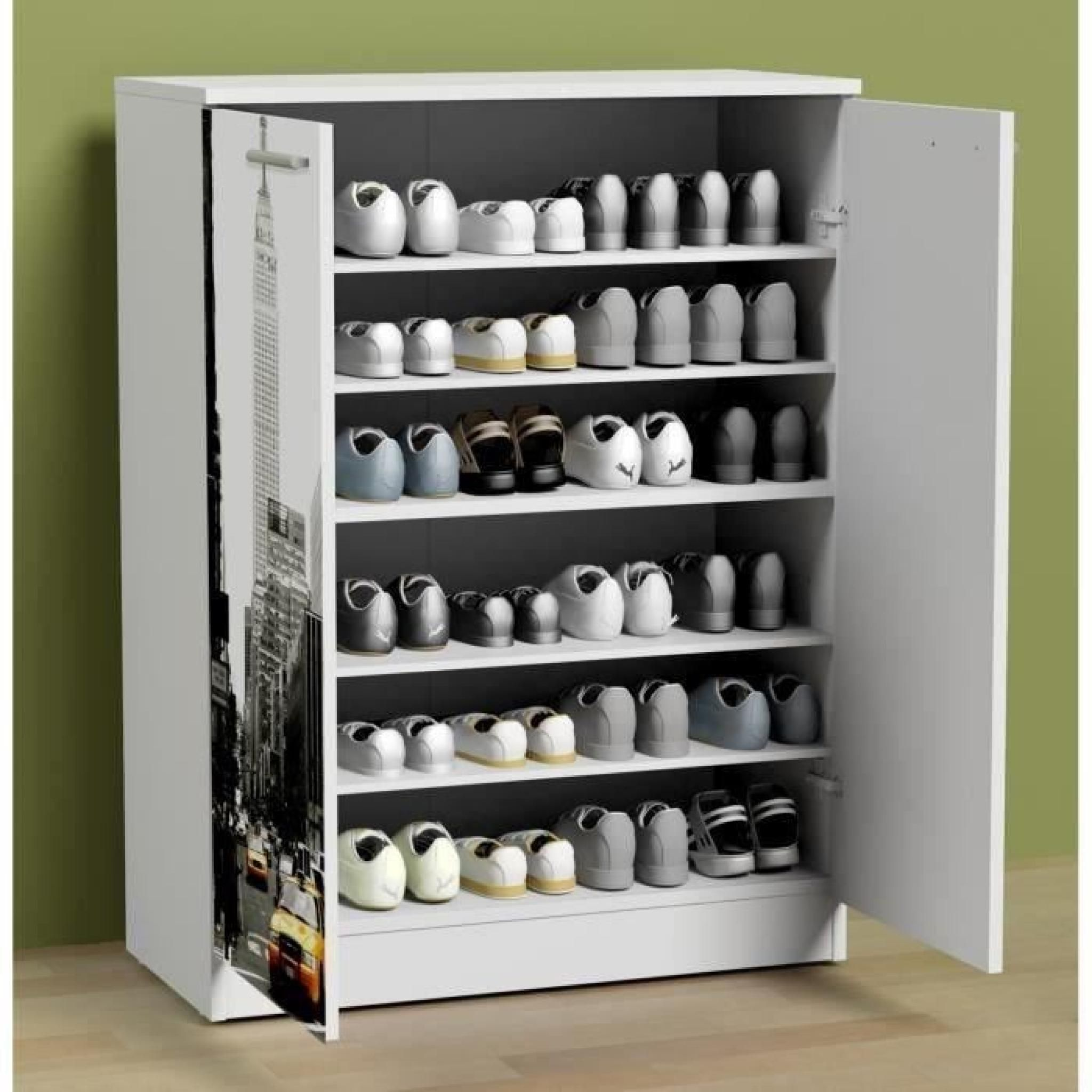 Impressionnant Meuble A Chaussures 30 Paires Shoe Cabinet Cool Furniture Reupholster Furniture