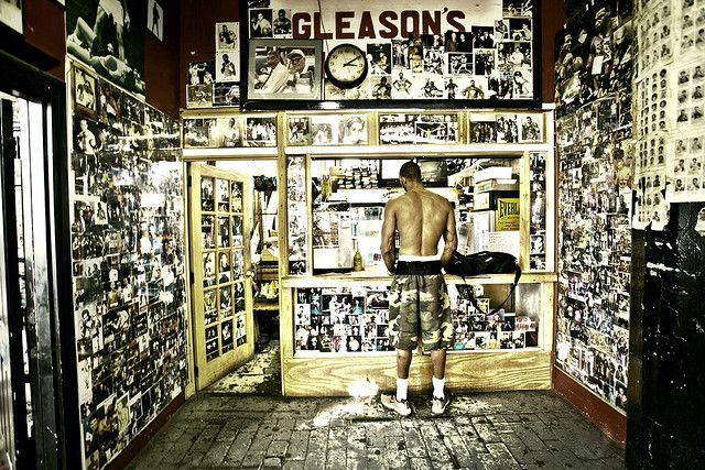 Gleason's Gym, Brooklyn  Boxer's photographs detail | Boxing