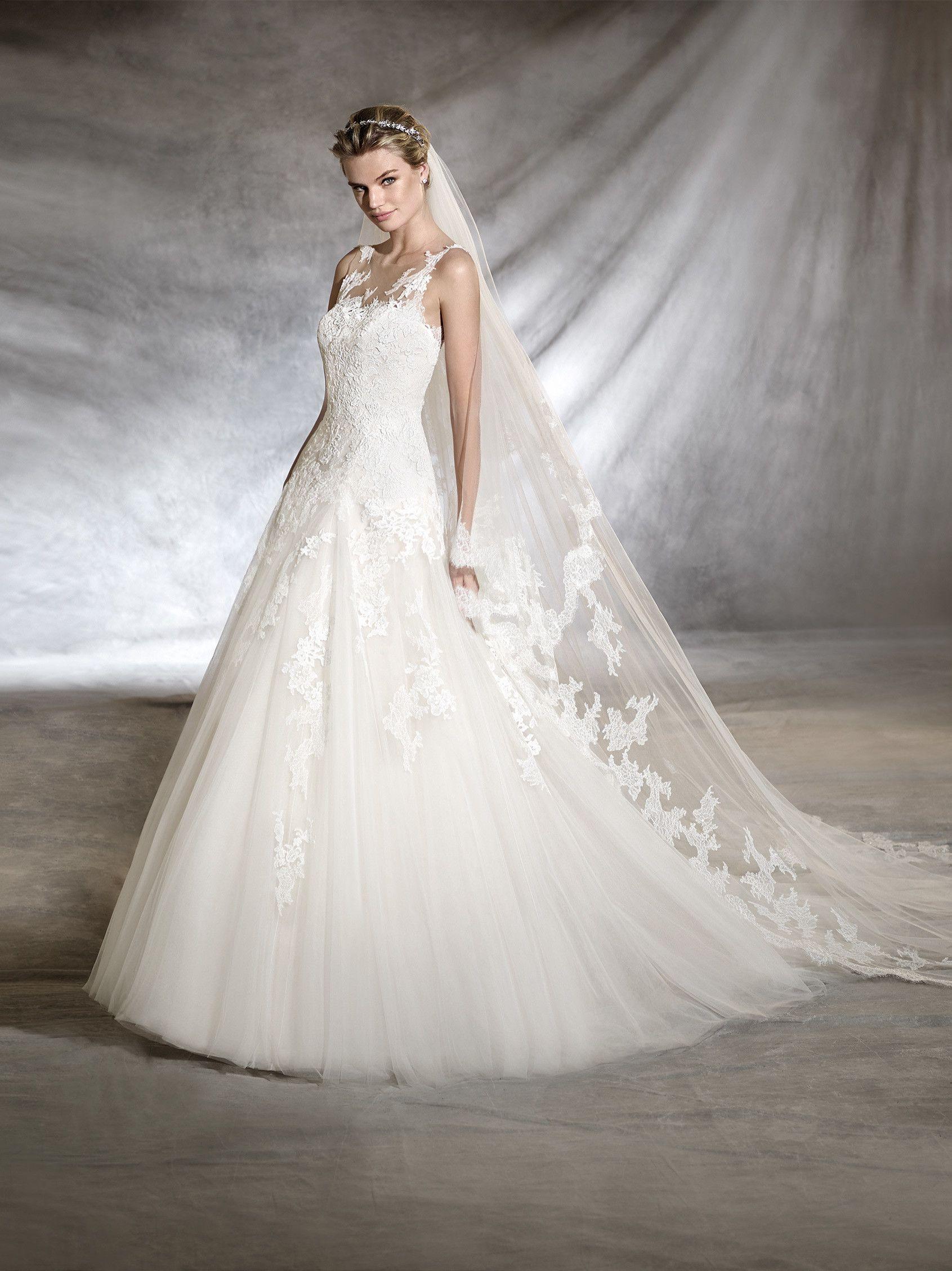 OLWEN Brautkleid im Prinzessin Stil Pronovias