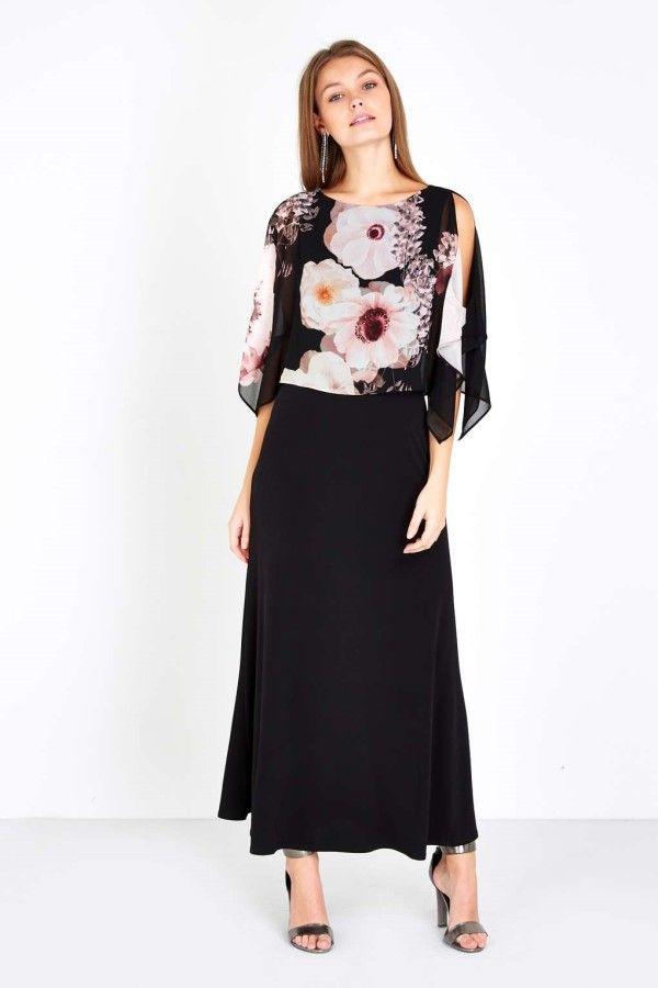 Eye Catching Petite Black Maxi Dress For Small Women Maxi Dresses