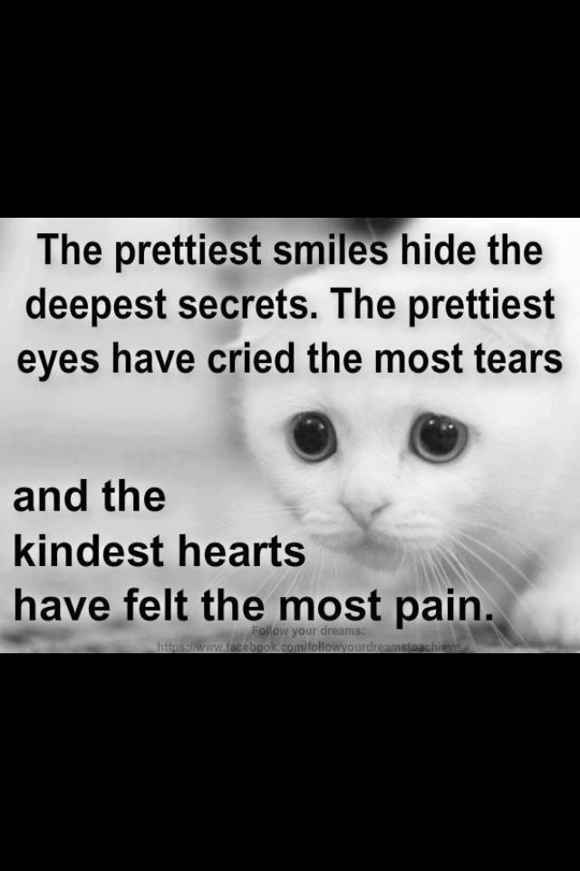 Eyes Secrets Heart Hiding Pain Quotes Wwwpicturesbosscom