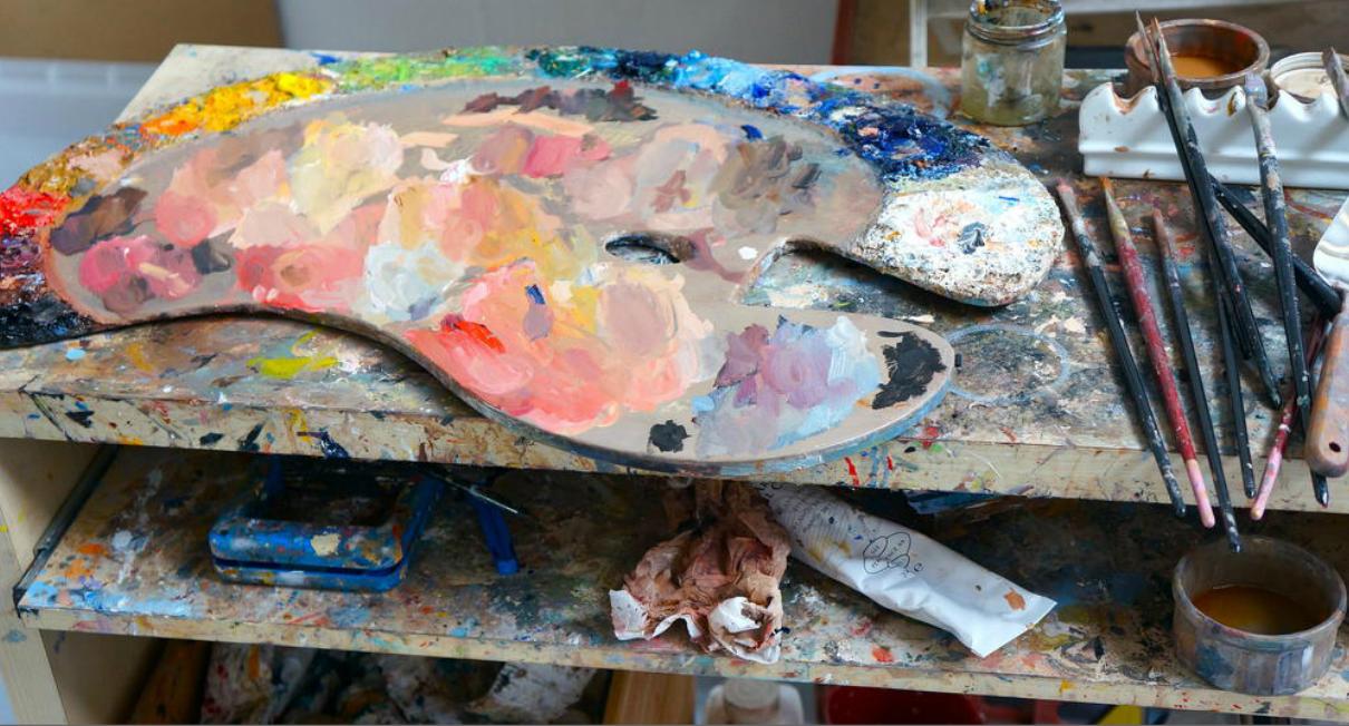 Paints...