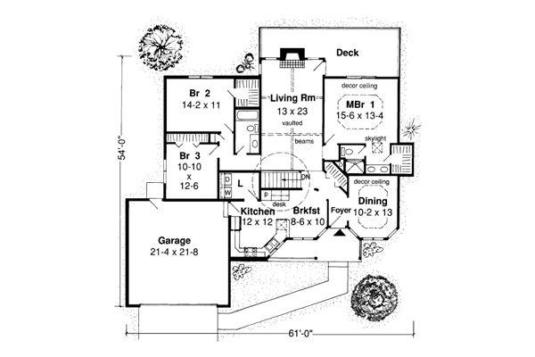 Clarissa Ranch House Plans