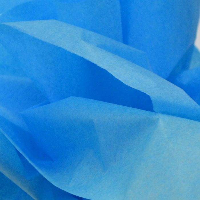 Turquoise Tissue Paper. Gorgeous for winter/spring packaging lines.