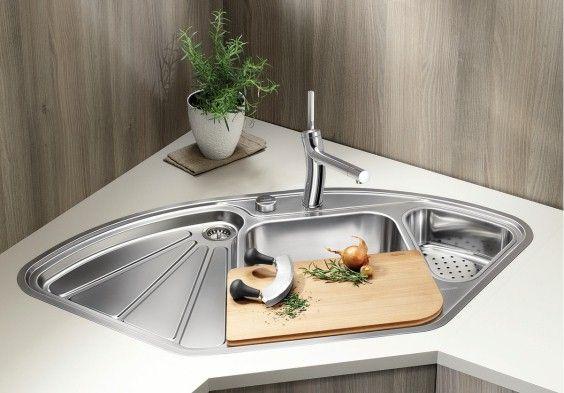 Mehrwert für die Ecke in der Küche \u2013 mit BLANCO Eckspülen