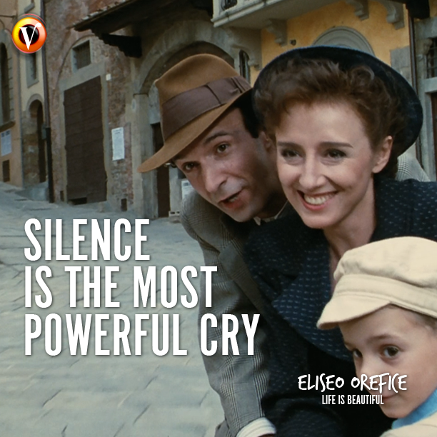 Eliseo Orefice In Life Is Beautiful La Vita E Bella Silence Is
