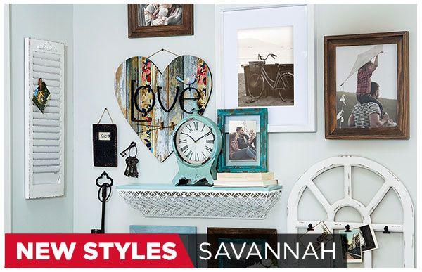 Frames & Décor Collections-Savannah
