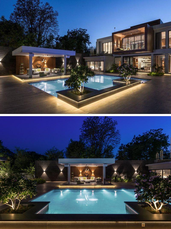 Design der vorderseite des hauses the ohana house by atelier design n domain  дома  pinterest  haus
